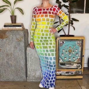 Jeremy Scott Keyboard Dress